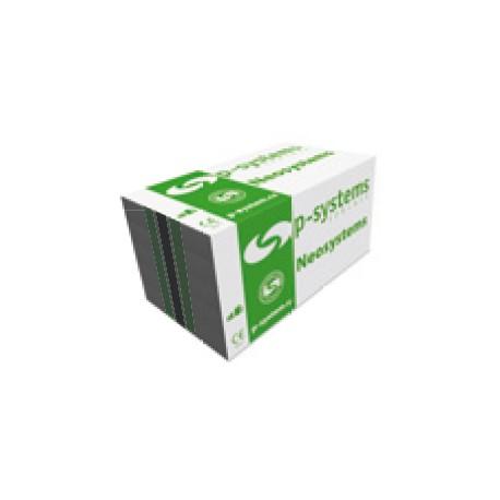 Pěnový fasádní polystyren EPS P-Systems Neosystems 70F šedý
