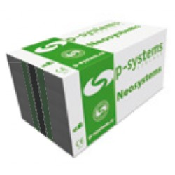 Pěnový fasádní polystyren EPS Neosystems 70F tl.180mm šedý