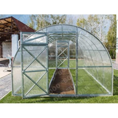 Zahradní skleník z polykarbonátu Trjoska