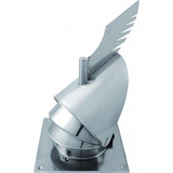 COBRA PLUS - komínová hlavice se základnou pr.150 mm