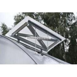 Větrací okno pro zahradní skleník Strelka