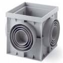 Revizní kanálová šachta PP 300x300 mm