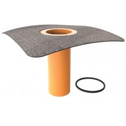 Nástavec pro svislé a vodorovné vpustě s integr.bitumenovou manžetou