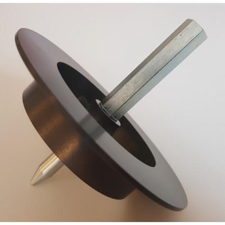 Kovová frézka do polystyrénu i minerální vaty