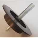 Kovová frézka do polystyrénu a minerální vaty 65mm
