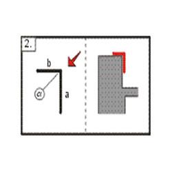 Lišta koutová - vnější, 2m (r.š. 100 mm)