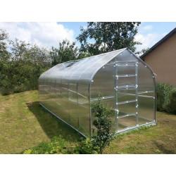 Zahradní skleník z polykarbonátu Gardentec Standard PROFI