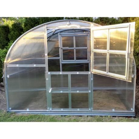 Zahradní skleník z polykarbonátu Gardentec Classic PROFI (2 x 3)