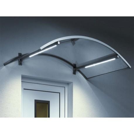 Vchodová stříška LED
