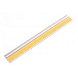 Začišťovací okenní profil (APU lišta) 6 mm bez tkaniny 2,4 m