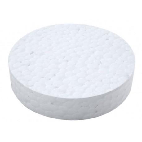 Polystyrenová zátka 65mm bílá