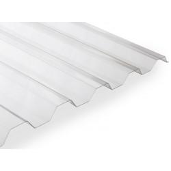 Polykarbonátová trapézová deska Makro (4000 x 1060 mm) čirá