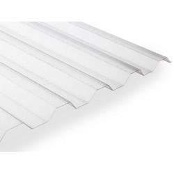 Polykarbonátová trapézová deska Makro ST (2000 x 1060 mm) čirá