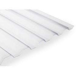 Polyvinylchloridová trapézová deska PVC HR (2500 x 1090 mm) čirá