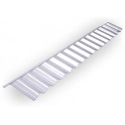 Napojení na čelní stěnu (trapéz) PVC