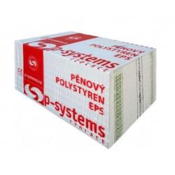 Pěnový fasádní polystyren EPS P-Systems 100F tl.80mm
