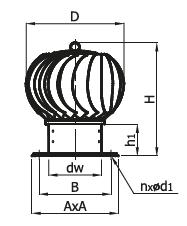 Head Plus - ventilační hlavice